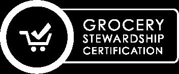 grocery stewardship certification logo